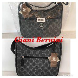 Giani Bernini Signature Small Hobo Handbag